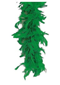 【マラソン最終日 最大20%OFFクーポン有】Green 80 Gram Feather Boa ハロウィン コスプレ 衣装 仮装 小道具 おもしろい イベント パーティ ハロウィーン 学芸会