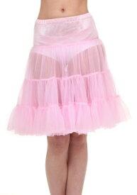 大人用 Pink Knee Length Crinoline ハロウィン コスプレ 衣装 仮装 小道具 おもしろい イベント パーティ ハロウィーン 学芸会