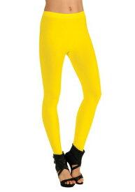 Women's Yellow Leggings ハロウィン コスプレ 衣装 仮装 小道具 おもしろい イベント パーティ ハロウィーン 学芸会
