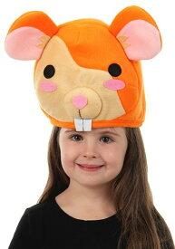 キッズ Hamster Quirky Kawaii 帽子 ハット ハロウィン コスプレ 衣装 仮装 小道具 おもしろい イベント パーティ ハロウィーン 学芸会