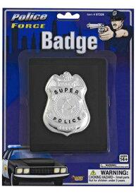 ポリス 警察 Badge on Wallet ハロウィン コスプレ 衣装 仮装 小道具 おもしろい イベント パーティ ハロウィーン 学芸会