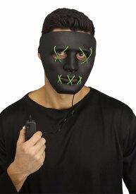 Green Light Up Stitch マスク ハロウィン コスプレ 衣装 仮装 小道具 おもしろい イベント パーティ ハロウィーン 学芸会