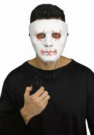 レッド Light Up Stitch マスク ハロウィン コスプレ 衣装 仮装 小道具 おもしろい イベント パーティ ハロウィーン 学芸会