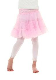チャイルド Pink Knee Length Crinoline ハロウィン コスプレ 衣装 仮装 小道具 おもしろい イベント パーティ ハロウィーン 学芸会