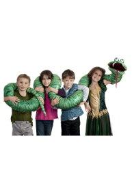 【マラソン最終日 最大20%OFFクーポン有】Big Green Snake Arm Puppet ハロウィン コスプレ 衣装 仮装 小道具 おもしろい イベント パーティ ハロウィーン 学芸会