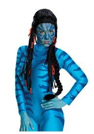 Avatar Neytiri ウィッグ ハロウィン コスプレ 衣装 仮装 小道具 おもしろい イベント パーティ ハロウィーン 学芸会
