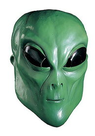 【マラソン最終日 最大20%OFFクーポン有】Latex Green Alien マスク ハロウィン コスプレ 衣装 仮装 小道具 おもしろい イベント パーティ ハロウィーン 学芸会