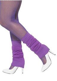 Purple Leg Warmers ハロウィン コスプレ 衣装 仮装 小道具 おもしろい イベント パーティ ハロウィーン 学芸会
