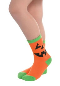 パンプキン Crew Socks ハロウィン コスプレ 衣装 仮装 小道具 おもしろい イベント パーティ ハロウィーン 学芸会