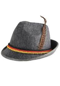 Grey German Alpine 帽子 ハット ハロウィン コスプレ 衣装 仮装 小道具 おもしろい イベント パーティ ハロウィーン 学芸会