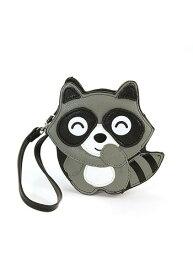 Raccoon Wristlet Bag ハロウィン コスプレ 衣装 仮装 小道具 おもしろい イベント パーティ ハロウィーン 学芸会