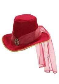 Victorian レッド Top 帽子 ハット ハロウィン コスプレ 衣装 仮装 小道具 おもしろい イベント パーティ ハロウィーン 学芸会
