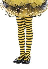 キッズ ブラック and Yellow Striped Tights ハロウィン コスプレ 衣装 仮装 小道具 おもしろい イベント パーティ ハロウィーン 学芸会