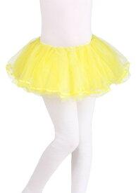 Yellow Tutu for キッズ ハロウィン コスプレ 衣装 仮装 小道具 おもしろい イベント パーティ ハロウィーン 学芸会