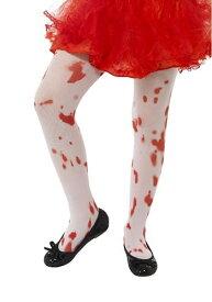 【全品10%OFFクーポン有】キッズ Blood Splatter Tights ハロウィン コスプレ 衣装 仮装 小道具 おもしろい イベント パーティ ハロウィーン 学芸会