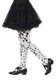 キッズ Dalmatian Tights ハロウィン コスプレ 衣装 仮装 小道具 おもしろい イベント パーティ ハロウィーン 学芸会