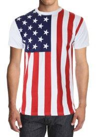 Men's American Flag Shirt ハロウィン コスプレ 衣装 仮装 小道具 おもしろい イベント パーティ ハロウィーン 学芸会