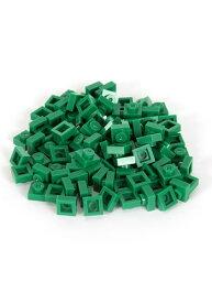 Bricky Blocks Green 100 Pieces 1x1 ハロウィン コスプレ 衣装 仮装 小道具 おもしろい イベント パーティ ハロウィーン 学芸会
