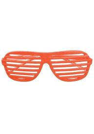 《全品P5倍 クーポン多数有》Orange 80's Shudder Shades ハロウィン コスプレ 衣装 仮装 小道具 おもしろい イベント パーティ ハロウィーン 学芸会