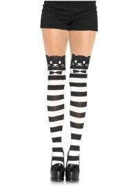 Women's Fancy Cat Tights ハロウィン コスプレ 衣装 仮装 小道具 おもしろい イベント パーティ ハロウィーン 学芸会