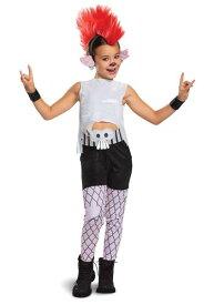 デラックス Trolls World Tour 女の子's Barb コスチューム ハロウィン 子ども コスプレ 衣装 仮装 こども イベント 子ども パーティ ハロウィーン 学芸会