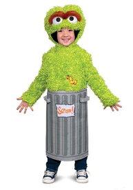 Sesame Street 赤ちゃん 新生児 男の子s Oscar the Grouch コスチューム ハロウィン 子ども コスプレ 衣装 仮装 こども イベント 子ども パーティ ハロウィーン 学芸会