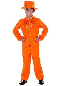 キッズ Orange Tuxedo コスチューム ハロウィン 子ども コスプレ 衣装 仮装 こども イベント 子ども パーティ ハロウィーン 学芸会
