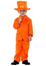 幼児 Orange Tuxedo コスチューム ハロウィン 子ども コスプレ 衣装 仮装 こども イベント 子ども パーティ ハロウィーン 学芸会