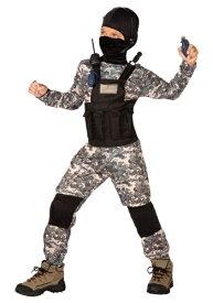 チャイルド Navy Seal コスチューム ハロウィン 子ども コスプレ 衣装 仮装 こども イベント 子ども パーティ ハロウィーン 学芸会
