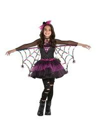 Miss Wicked Web 女の子's コスチューム ハロウィン 子ども コスプレ 衣装 仮装 こども イベント 子ども パーティ ハロウィーン 学芸会