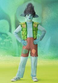Trolls World Tour デラックス Branch コスチューム for 男の子s ハロウィン 子ども コスプレ 衣装 仮装 こども イベント 子ども パーティ ハロウィーン 学芸会