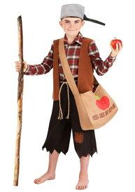 Boy's Johnny Appleseed コスチューム ハロウィン 子ども コスプレ 衣装 仮装 こども イベント 子ども パーティ ハロウィーン 学芸会