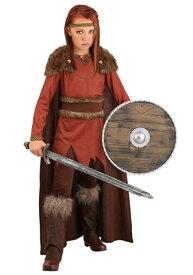 Viking Hero コスチューム for 女の子s ハロウィン 子ども コスプレ 衣装 仮装 こども イベント 子ども パーティ ハロウィーン 学芸会