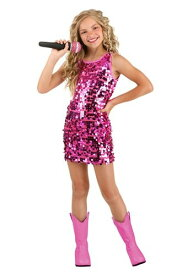 女の子 Pink Pop Singer コスチューム ハロウィン 子ども コスプレ 衣装 仮装 こども イベント 子ども パーティ ハロウィーン 学芸会