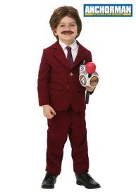 Anchorman 幼児 Ron Burgundy コスチューム ハロウィン 子ども コスプレ 衣装 仮装 こども イベント 子ども パーティ ハロウィーン 学芸会