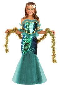 Sea Siren コスチューム for 女の子s ハロウィン 子ども コスプレ 衣装 仮装 こども イベント 子ども パーティ ハロウィーン 学芸会
