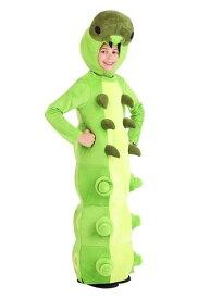 Green Caterpillar コスチューム for チャイルドren ハロウィン 子ども コスプレ 衣装 仮装 こども イベント 子ども パーティ ハロウィーン 学芸会