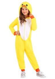 Yellow キッズ Duck Onesie ハロウィン 子ども コスプレ 衣装 仮装 こども イベント 子ども パーティ ハロウィーン 学芸会