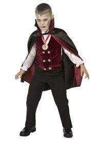 男の子 チャイルド デラックス ヴァンパイア 吸血鬼 コスチューム ハロウィン 子ども コスプレ 衣装 仮装 こども イベント 子ども パーティ ハロウィーン 学芸会