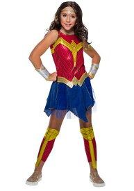 Wonder Woman デラックス コスチューム for 女の子s ハロウィン 子ども コスプレ 衣装 仮装 こども イベント 子ども パーティ ハロウィーン 学芸会