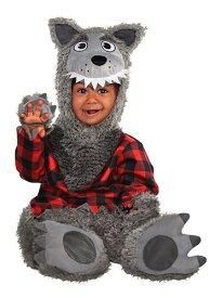 Grey Werewolf for 赤ちゃん 新生児s ハロウィン 子ども コスプレ 衣装 仮装 こども イベント 子ども パーティ ハロウィーン 学芸会