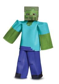 《24日〜お得クーポン多数!!》Minecraft Prestige チャイルド ゾンビ コスチューム ハロウィン 子ども コスプレ 衣装 仮装 こども イベント 子ども パーティ ハロウィーン 学芸会