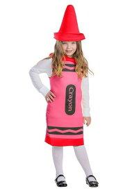 Toddlers レッド Crayon コスチューム ハロウィン 子ども コスプレ 衣装 仮装 こども イベント 子ども パーティ ハロウィーン 学芸会