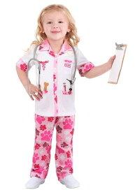 幼児 Veterinarian コスチューム for 女の子s ハロウィン 子ども コスプレ 衣装 仮装 こども イベント 子ども パーティ ハロウィーン 学芸会