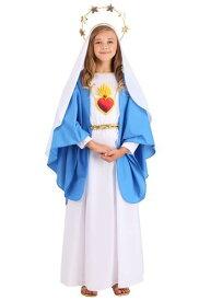 Nativity Mary コスチューム for 女の子s ハロウィン 子ども コスプレ 衣装 仮装 こども イベント 子ども パーティ ハロウィーン 学芸会