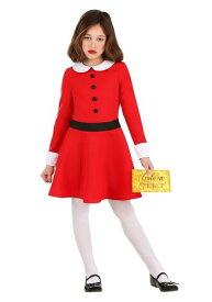 Willy Wonka Veruca Salt コスチューム for 女の子s ハロウィン 子ども コスプレ 衣装 仮装 こども イベント 子ども パーティ ハロウィーン 学芸会