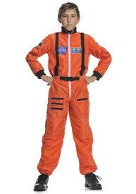 チャイルド Orange 宇宙飛行士 コスチューム ハロウィン 子ども コスプレ 衣装 仮装 こども イベント 子ども パーティ ハロウィーン 学芸会