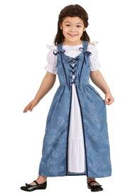 幼児 女の子s Renaissance Villager コスチューム ハロウィン 子ども コスプレ 衣装 仮装 こども イベント 子ども パーティ ハロウィーン 学芸会