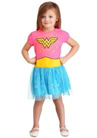 Wonder Woman コスチューム Dress for 女の子s ハロウィン 子ども コスプレ 衣装 仮装 こども イベント 子ども パーティ ハロウィーン 学芸会