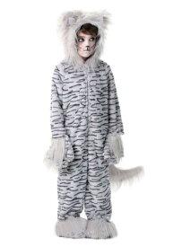 デラックス Gray Cat キッズ コスチューム ハロウィン 子ども コスプレ 衣装 仮装 こども イベント 子ども パーティ ハロウィーン 学芸会